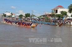 Khmer celebrate Ok Om Bok festival