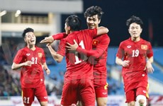 Vietnam squad for AFF Cup in Myanmar selected