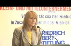 Vietnamese, German parties hold dialogues on SMEs
