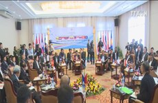 ASEAN Defence Ministers' Meeting Retreat in Laos