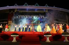 Muong minority group holds second Gong Festival