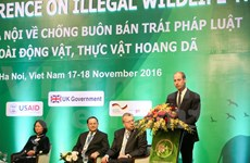 Third International Wildlife Trade Conference opens in Hanoi