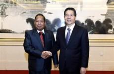 China, Laos bolster anti-terrorism, drug control cooperation