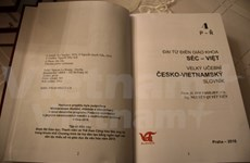 Fourth volume of Czech-Vietnamese encyclopedia released