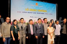 Vietnamese students in Czech Republic honoured