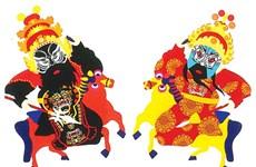 Hoa Sen grad turns classic characters into papercraft