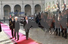 Vietnam, Italy agree to deepen strategic partnership