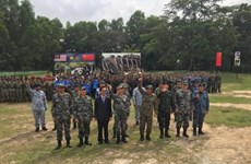 China, Malaysia undertake joint military exercises