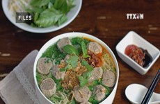 Pho with beef meatballs among best street foods in Asia
