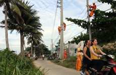 Kien Giang: more island commune connected to national grid