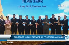 Philippines to push forward six priorities in ASEAN