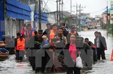 Heavy flooding affects more than one million in Thailand