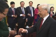 Leaders extend Lunar New-Year greetings