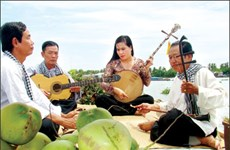 Art of Đờn ca tài tử enchants folk music lovers