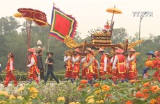 Palanquin procession to commemorate Hung Kings