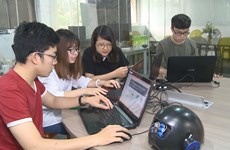 Students embark on startup journey with smart helmets