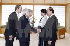 PM meets Japanese Emperor, Empress