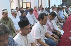 Muslims wrap up Ramadan fast