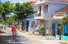 Mural art revitalises fishing village