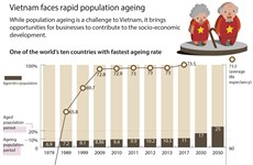 Vietnam faces rapid population ageing