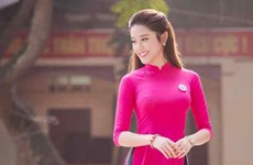 Photos depict Vietnamese women's grace in traditional costumes