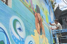 Mural arts encourage environment protection
