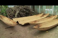 Boat making villages busy in flood season