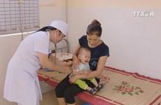 Needy people receive free health insurance