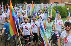 Nordic embassies hold Hanoi Pride Parade