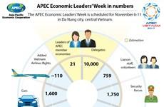 APEC Economic Leaders' Week in numbers