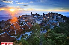 Ba Na Hills - A small city in clouds