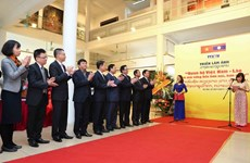 Photo exhibition on Vietnam-Laos relationship opens