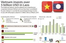 Vietnam invests over 5 billion USD in Laos