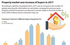Property market sees increase of buyers in 2017