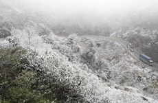 Snow covers northern mountainous areas