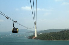 World's largest cable car route launched in Kien Giang