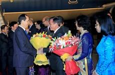 President Tran Dai Quang begins State visit to India