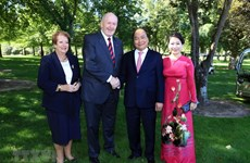 PM Nguyen Xuan Phuc's busy schedule on Australia visit