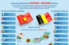 Enhancing multifaceted Vietnam - Belgium relations