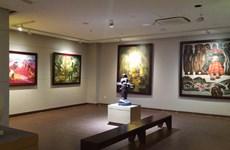Vietnam through eyes of European painters