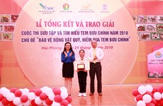 Awards presented for 2018 postage stamp contest for children  