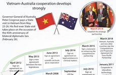 Vietnam-Australia cooperation develops strongly