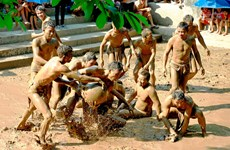 Mud ball wrestling festival in Bac Giang province