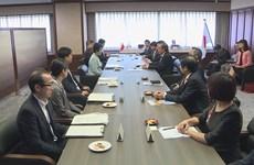 Deputy PM pays visit to Japan