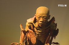Exhibition on human body's mystery
