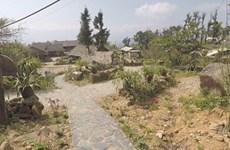 Primitive landscape turns mountainous village into tourist site