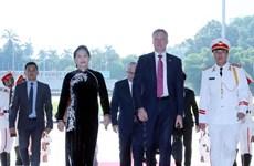 Speaker of Australian House of Representatives welcomed in Hanoi