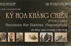 Sketches outline resistance wars