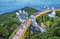 Vietnam's golden bridge goes viral