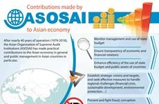 ASOSAI's contributions to Asian economy